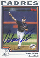Adam Eaton San Diego Padres 2003 Topps Autographed Card. This item comes with a certificate of authenticity from Autograph-Sports. PSM-Powers Sports Memorabilia