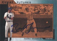 Bubba Trammell Detroit Tigers 1997 Upper Deck Great Futures Foil Autographed Card - Nice Card - Rookie Card. This item comes with a certificate of authenticity from Autograph-Sports. PSM-Powers Sports Memorabilia