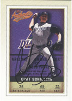 Curt Schilling Arizona Diamondbacks 2002 Fleer Authentic Baseball Autographed Card - Awesome Autograph. This item comes with a certificate of authenticity from Autograph-Sports. PSM-Powers Sports Memorabilia