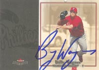 Billy Wagner Philadelphia Phillies 2004 Fleer Patchworks Autographed Card. This item comes with a certificate of authenticity from Autograph-Sports. PSM-Powers Sports Memorabilia