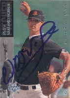Bill Vanlandingham San Jose Giants - Giants Affiliate 1993 Upper Deck Sp Autographed Card - Minor League Card. This item comes with a certificate of authenticity from Autograph-Sports. PSM-Powers Sports Memorabilia