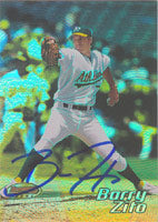 Barry Zito Oakland Athletics 2002 Bowman's Best Autographed Card - Awesome Autograph. This item comes with a certificate of authenticity from Autograph-Sports. PSM-Powers Sports Memorabilia