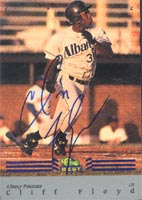 Cliff Floyd Albany Polecats - Expos Affiliate 1992 Classic Best Autographed Card - Minor League Card. This item comes with a certificate of authenticity from Autograph-Sports. PSM-Powers Sports Memorabilia