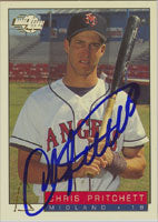 Chris Pritchett Midland Angels - Angels Affiliate 1993 Fleer Excel Autographed Card - Minor League Card. This item comes with a certificate of authenticity from Autograph-Sports. PSM-Powers Sports Memorabilia