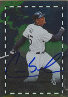 Carlos Lee Chicago White Sox 2003 Donruss Nacion de Rigen Autographed Card - Nice Card. This item comes with a certificate of authenticity from Autograph-Sports. PSM-Powers Sports Memorabilia