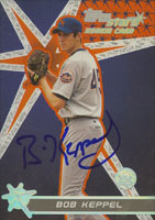 Bob Keppel New York Mets 2001 Topps Stars Rookie Card Autographed Card. This item comes with a certificate of authenticity from Autograph-Sports. PSM-Powers Sports Memorabilia