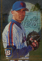 Bill Pulsipher New York Mets 1994 Bowman Autographed Card. This item comes with a certificate of authenticity from Autograph-Sports. PSM-Powers Sports Memorabilia