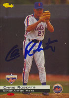 Chris Roberts Binghamton Mets - Mets Affiliate 1994 Classic Autographed Card - Minor League Card. This item comes with a certificate of authenticity from Autograph-Sports. PSM-Powers Sports Memorabilia