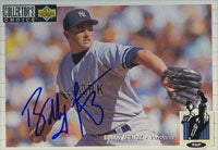 Bobby Munoz New York Yankees 1994 Upper Deck Collector's Choice Autographed Card. This item comes with a certificate of authenticity from Autograph-Sports. PSM-Powers Sports Memorabilia