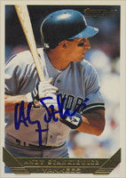 Andy Stankiewicz New York Yankees 1993 Topps Gold Autographed Card. This item comes with a certificate of authenticity from Autograph-Sports. PSM-Powers Sports Memorabilia