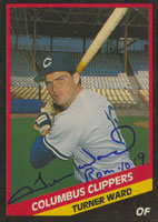 Turner Ward Columbus Clippers - Yankees Affiliate 1988 CMC Autographed Card - Minor League Card. This item comes with a certificate of authenticity from Autograph-Sports. PSM-Powers Sports Memorabilia