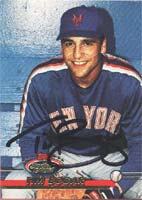 Tim Bogar New York Mets 1992 Stadum Club Autographed Card - Rookie Card. This item comes with a certificate of authenticity from Autograph-Sports. PSM-Powers Sports Memorabilia