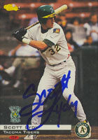Scott Lydy Tacoma Tigers - Athletics Affiliate 1994 Classic Autographed Card - Minor League Card. This item comes with a certificate of authenticity from Autograph-Sports. PSM-Powers Sports Memorabilia