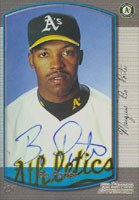 Bo Porter Oakland Athletics 2000 Bowman Autographed Card. This item comes with a certificate of authenticity from Autograph-Sports. PSM-Powers Sports Memorabilia