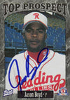 Jason Boyd Reading Phillies - Phillies Affiliate 1997 Best Cards Autographed Card - Minor League Card. This item comes with a certificate of authenticity from Autograph-Sports. PSM-Powers Sports Memorabilia