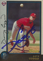 David Coggin Philadelphia Phillies 1998 Bowman Autographed Card. This item comes with a certificate of authenticity from Autograph-Sports. PSM-Powers Sports Memorabilia