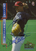 David Doster Scranton/W-B Red Barons - Phillies Affiliate 2000 Blueline Autographed Card - Minor League Card. This item comes with a certificate of authenticity from Autograph-Sports. PSM-Powers Sports Memorabilia