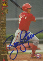 Bobby Estalella Philadelphia Phillies 1997 Pacific Collection Autographed Card. This item comes with a certificate of authenticity from Autograph-Sports. PSM-Powers Sports Memorabilia