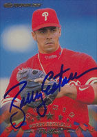 Bobby Estalella Philadelphia Phillies 1998 Donruss Rookie Autographed Card. This item comes with a certificate of authenticity from Autograph-Sports. PSM-Powers Sports Memorabilia