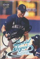 David Segui Seattle Mariners 1999 Fleer Ultra Autographed Card. This item comes with a certificate of authenticity from Autograph-Sports. PSM-Powers Sports Memorabilia
