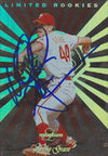 Mike Grace Philadelphia Phillies 1996 Leaf Limited Rookie Autographed Card. This item comes with a certificate of authenticity from Autograph-Sports. PSM-Powers Sports Memorabilia