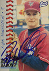 Ryan Hawblitzel Scranton/W-B Red Barons - Phillies Affiliate 1997 Best Cards Autographed Card - Minor League Card. This item comes with a certificate of authenticity from Autograph-Sports. PSM-Powers Sports Memorabilia