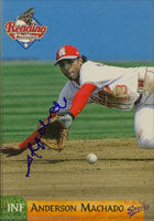 Anderson Machado Reading Phillies - Phillies Affiliate 2003 Multi-Ad Sports Autographed Card - Minor League Card. This item comes with a certificate of authenticity from Autograph-Sports. PSM-Powers Sports Memorabilia