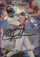 Chad Hermansen Pittsburgh Pirates 2000 Topps Stars Autographed Card. This item comes with a certificate of authenticity from Autograph-Sports. PSM-Powers Sports Memorabilia