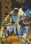 Al Martin Pittsburgh Pirates 1994 Fleer Rookie Sensation Autographed Card. This item comes with a certificate of authenticity from Autograph-Sports. PSM-Powers Sports Memorabilia