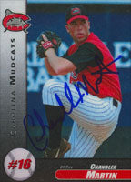 Chandler Martin Carolina Mudcats - Pirates Affiliate 1999 Roox Autographed Card - Minor League Card. This item comes with a certificate of authenticity from Autograph-Sports. PSM-Powers Sports Memorabilia