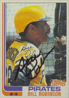 Bill Robinson Pittsburgh Pirates 1982 Topps Autographed Card. This item comes with a certificate of authenticity from Autograph-Sports. PSM-Powers Sports Memorabilia