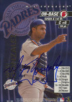 Wiki Gonzalez San Diego Padres 2001 MLB Showdown Autographed Card. This item comes with a certificate of authenticity from Autograph-Sports. PSM-Powers Sports Memorabilia