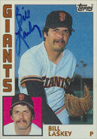 Bill Laskey San Francisco Giants 1984 Topps Autographed Card. This item comes with a certificate of authenticity from Autograph-Sports. PSM-Powers Sports Memorabilia