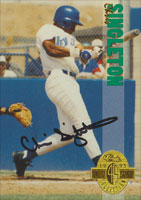 Chris Singleton San Francisco Giants 1993 Classic Four Sport Collection Autographed Card. This item comes with a certificate of authenticity from Autograph-Sports. PSM-Powers Sports Memorabilia