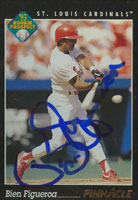 Bien Figueroa St. Louis Cardinals 1993 Pinnacle Rookie Prospect Autographed Card. This item comes with a certificate of authenticity from Autograph-Sports. PSM-Powers Sports Memorabilia