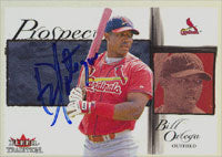 Bill Ortega St. Louis Cardinals 2002 Fleer Tradition Prospect Autographed Card. This item comes with a certificate of authenticity from Autograph-Sports. PSM-Powers Sports Memorabilia