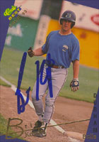 Brian Kowitz Durham Bulls - Atlanta Braves Affiliate 1993 Classic Best Gold Autographed Card - Minor League Card. This item comes with a certificate of authenticity from Autograph-Sports. PSM-Powers Sports Memorabilia