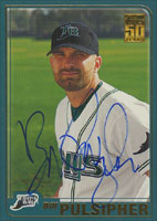 Bill Pulsipher Tampa Bay Devil Rays 2001 Topps Autographed Card. This item comes with a certificate of authenticity from Autograph-Sports. PSM-Powers Sports Memorabilia