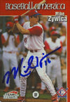 Mike Zywica Charlotte Rangers - Rangers Affiliate 1999 Team Best Autographed Card - Minor League Card. This item comes with a certificate of authenticity from Autograph-Sports. PSM-Powers Sports Memorabilia