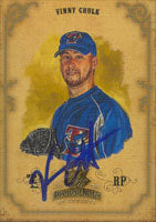 Vinny Chulk Toronto Blue Jays 2004 Donruss Diamond Kings Autographed Card. This item comes with a certificate of authenticity from Autograph-Sports. PSM-Powers Sports Memorabilia