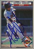 Anthony Sanders Syracuse Skychiefs - Blue Jays Affiliate 1999 Blueline Autographed Card - Minor League Card. This item comes with a certificate of authenticity from Autograph-Sports. PSM-Powers Sports Memorabilia