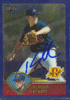 Bubba Nelson Atlanta Braves 2003 Topps Chrome 1st Year Card Autographed Card. This item comes with a certificate of authenticity from Autograph-Sports. PSM-Powers Sports Memorabilia