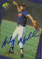 Andy Nezelek Greenville Braves - Braves Affiliate 1993 Classic Best Gold Autographed Card - Minor League Card. This item comes with a certificate of authenticity from Autograph-Sports. PSM-Powers Sports Memorabilia