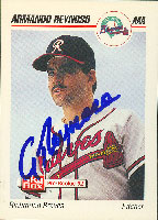 Armando Reynoso Richmond Braves - Braves Affiliate 1992 Skybox Pre Rookie Autographed Card - Minor League Card. This item comes with a certificate of authenticity from Autograph-Sports. PSM-Powers Sports Memorabilia