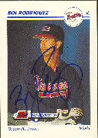 Boi Rodriguez Greenville Braves - Braves Affiliate 1991 Line Drive Pre Rookie Autographed Card - Minor League Card. This item comes with a certificate of authenticity from Autograph-Sports. PSM-Powers Sports Memorabilia