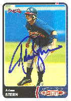 Adam Stern Atlanta Braves 2003 Topps Total First Year Card Autographed Card. This item comes with a certificate of authenticity from Autograph-Sports. PSM-Powers Sports Memorabilia
