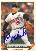 Bob Milacki Baltimore Orioles 1993 Topps Autographed Card. This item comes with a certificate of authenticity from Autograph-Sports. PSM-Powers Sports Memorabilia