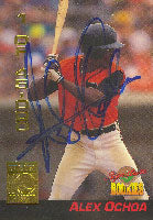 Alex Ochoa Baltimore Orioles 1994 Signature Rookies Top Prospect Autographed Card. This item comes with a certificate of authenticity from Autograph-Sports. PSM-Powers Sports Memorabilia
