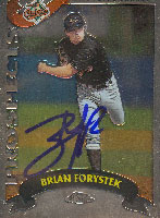 Brian Forystek Frederick Keys - Orioles Affiliate 2002 Topps Chrome Prospects Autographed Card - Minor League Card. This item comes with a certificate of authenticity from Autograph-Sports. PSM-Powers Sports Memorabilia