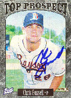Chris Fussell Bowie Baysox - Orioles Affiliate 1997 Best Top Prospects Autographed Card - Minor League Card. This item comes with a certificate of authenticity from Autograph-Sports. PSM-Powers Sports Memorabilia